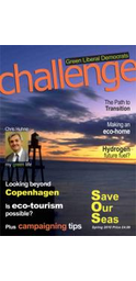Challenge magazine has a new look and is now in full colour throughout