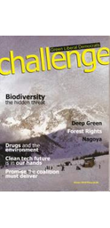 Challenge Winter 2010 Front Cover