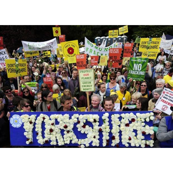 North Yorkshire activists against fracking