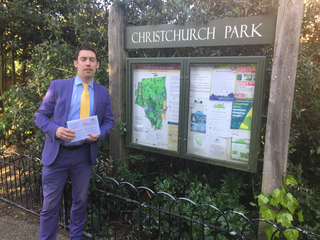 Adrian by Christchurch Park