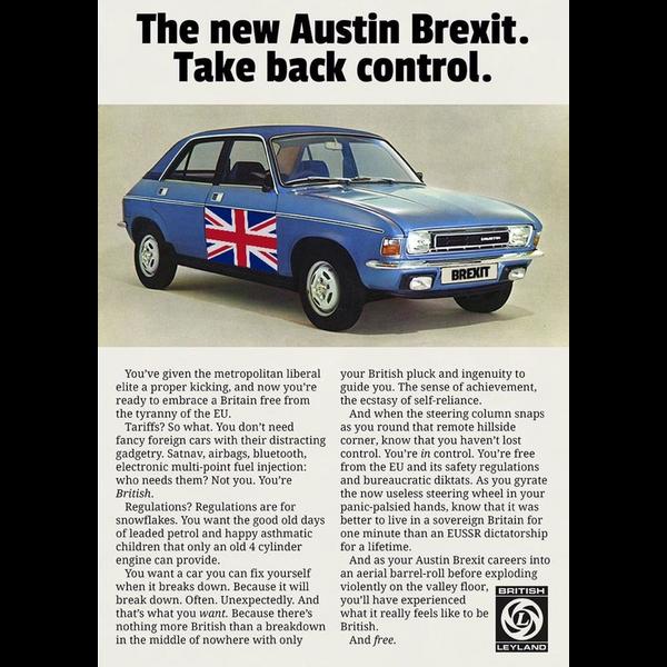 Austin car like brexit