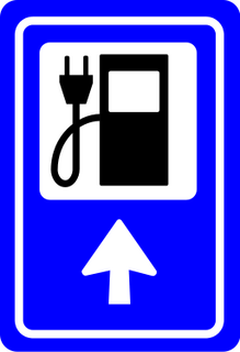 EV charge sign (Thanks go to Wouter.robers for the EV charge sation sign)