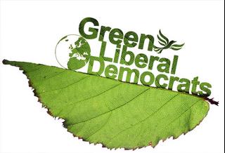 Green Liberal Democrats Leaf logo