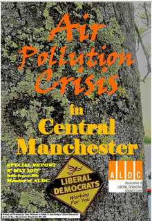 Air Pollution Crisis in Central Manchester