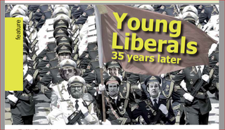 Young Liberals 35 years on (Christian Vassie)