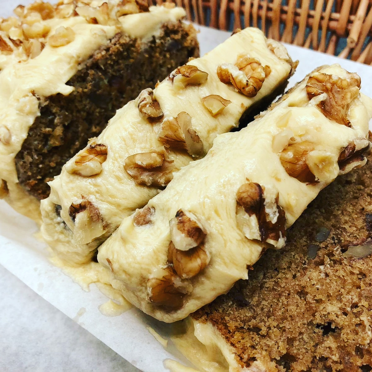 Vegan Coffee and walnut cake by The Food Rhino (greenlibdems.org.uk)