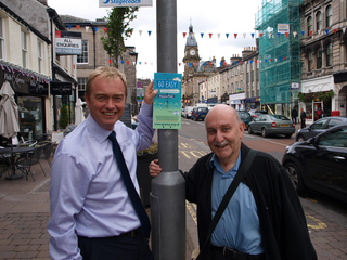 South Lakes MP has joined Cumbria County Councillor Geoff Cook to back the 'Go Easy' campaign.