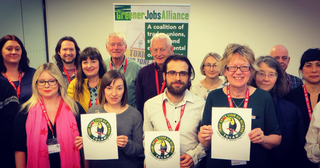 Greener Jobs Alliance launch (http://www.greenerjobsalliance.co.uk/)
