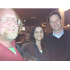 George Miles, Lorraine Chatwin, and Nick Clegg