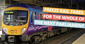 Freeze Rail Fares