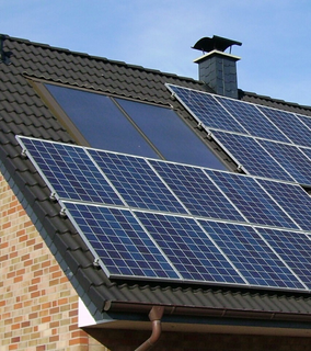 solar panel installation in Devon