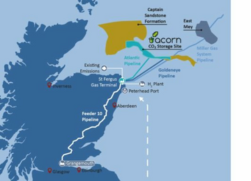 Acorn CCUS (Pic from Acorn and Energy Voice)