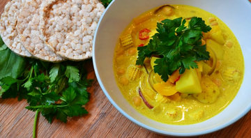 Tibetan Coconut Curry (The Food Rhino)
