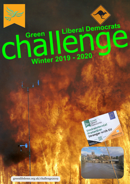 GLD Challenge 2019-20 front cover (Northwest_Crown_Fire_Experiment © wikimedia)