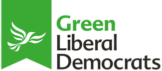Green Lib Dem flag logo