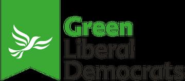 Green Lib Dem flag logo