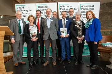 MSPs and Councillors at Galloway National Park conference (Michael Ryan)